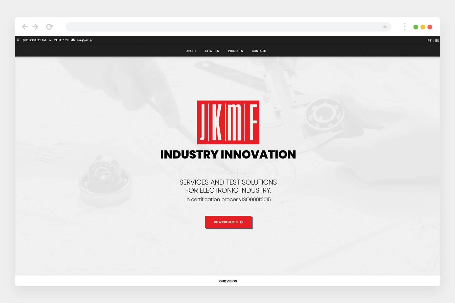 JKMF website