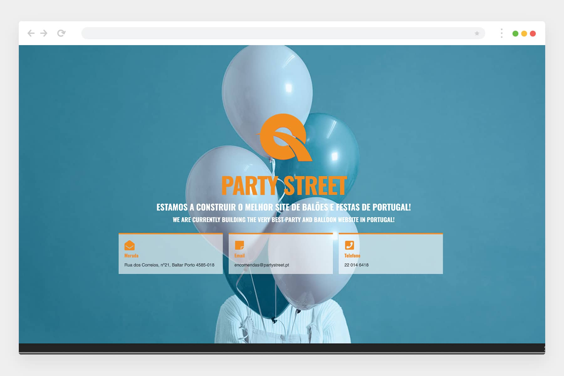 Partystreet website