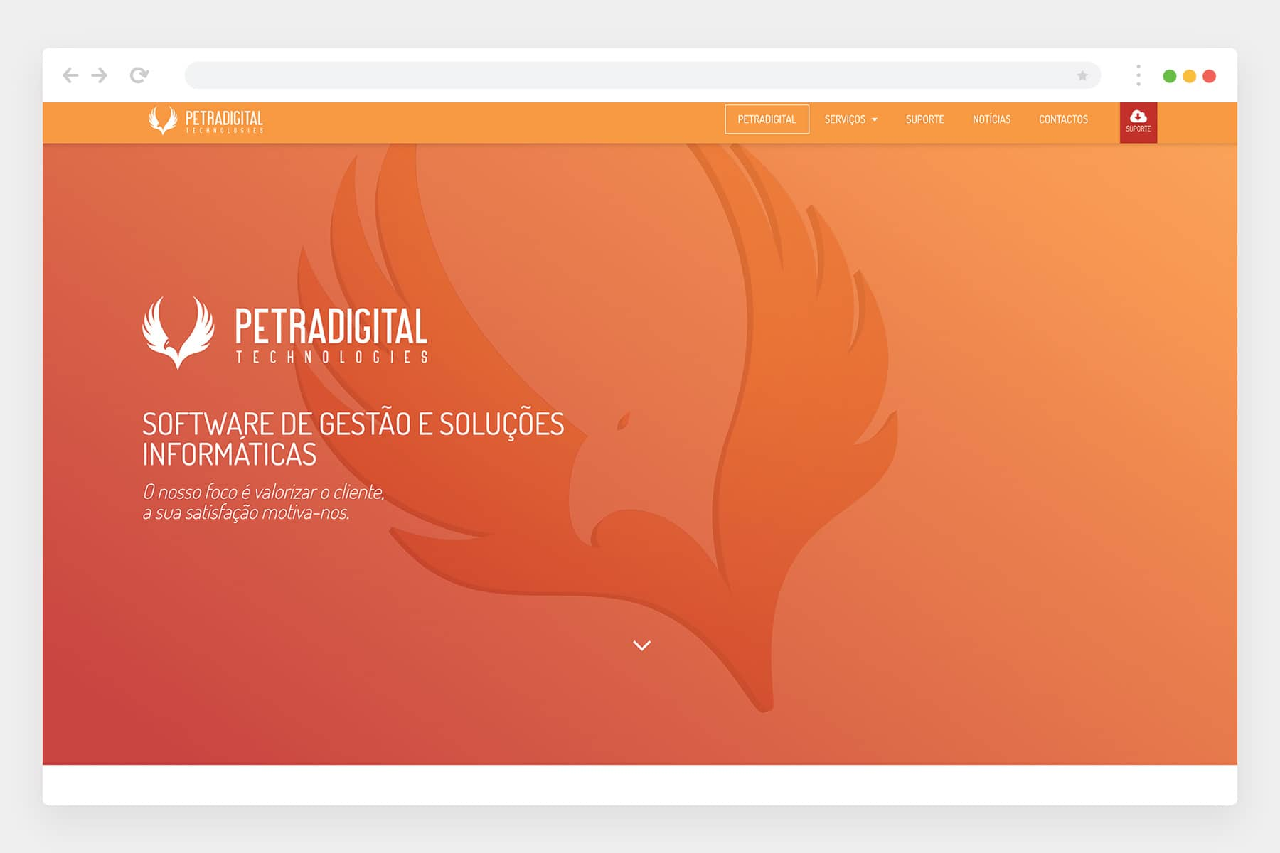 Petradigital website